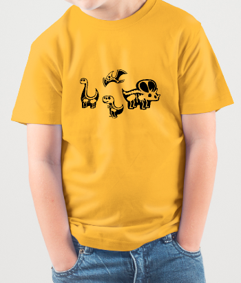 Dinosaur Skeleton Children's T-Shirt