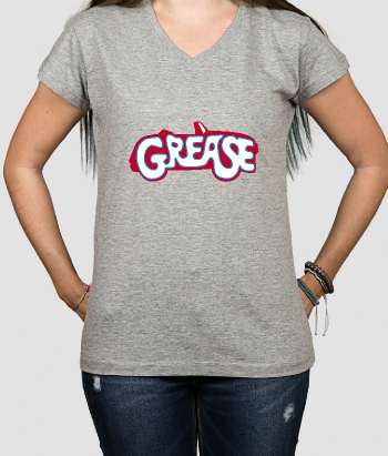 T-shirt logo Grease
