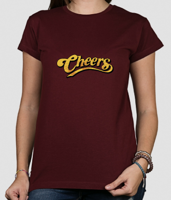 T-shirt logo Cheers