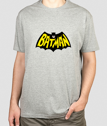 Camiseta logo Batman retro
