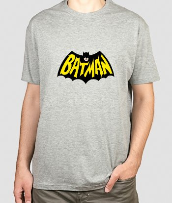 T-shirt logo Batman retro