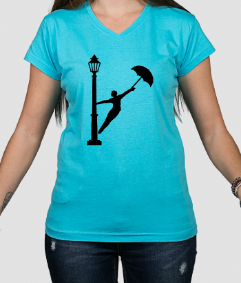 Singing in the Rain Umbrella Shirt