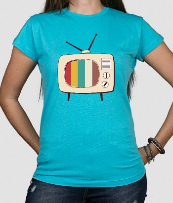 Camiseta retro pop tv