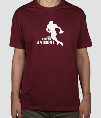 T-shirt sport Dream, Vision Desire