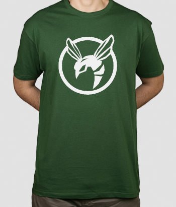 T-shirt logo Green Hornet
