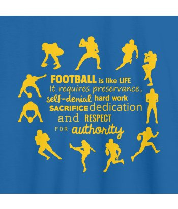 Football is Like Life T-Shirt