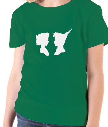 T-shirt Silhouet Wendy en Peter Pan