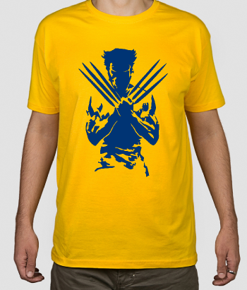 T-shirt cinema Wolverine