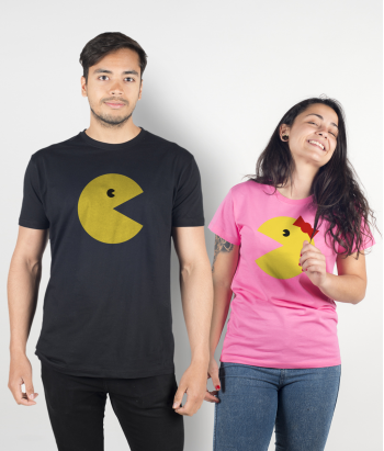Mr and Mrs Pacman Duo T-Shirts