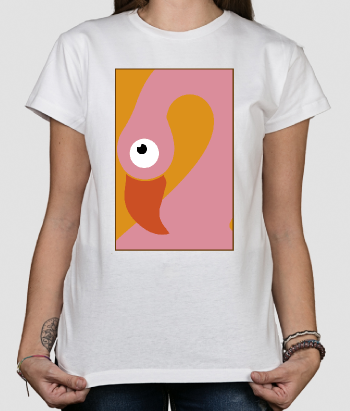 Camisola animais Flamingo art