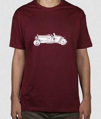 Camiseta coche carreras antiguo