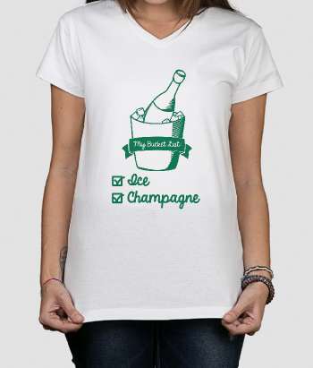 Camiseta divertida Bucket list