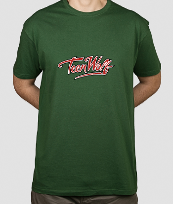 T-shirt logo Teen Wolf