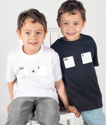 Copy and Paste Duo T-Shirts