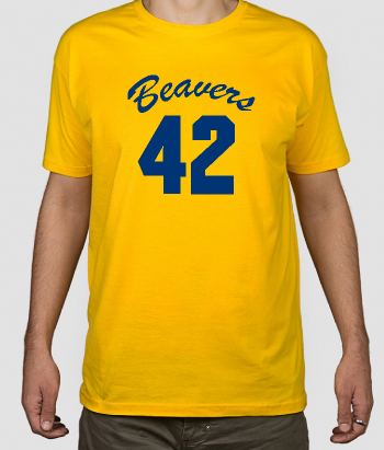 T-shirt cinema Beavers 42