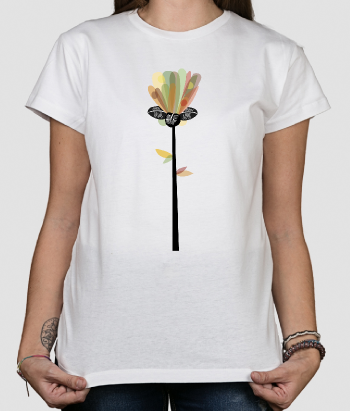 Colourful Flower T-Shirt