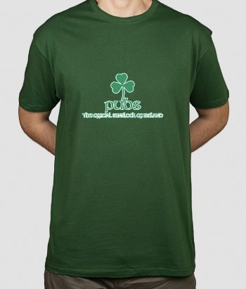 Pubs Sunblock of Ireland Funny Shirt