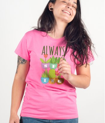 Camiseta original Always spring