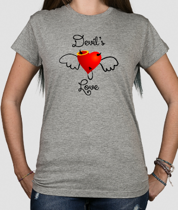 T-shirt San Valentino devil's love