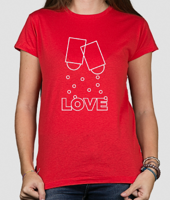 T-shirt spiced Love