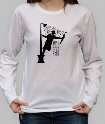 Singin' in the Rain Shower Shirt