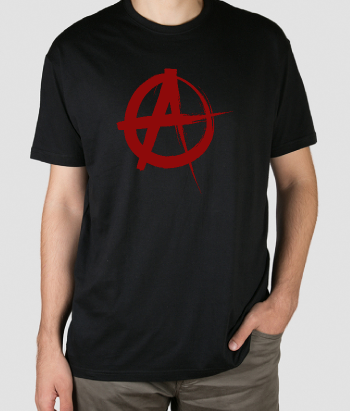 T-shirt punk anarchia