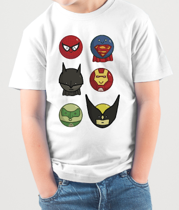 Baby Superhero T-Shirts