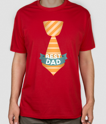 Best Dad Tie Father's Day Shirt