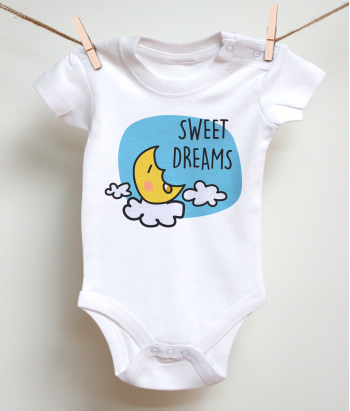 Sweet Dreams Baby Onezie