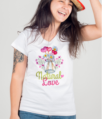 Natural Love Flower Shirt