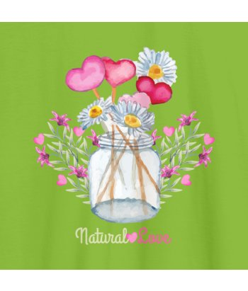 Camiseta plantas natural love