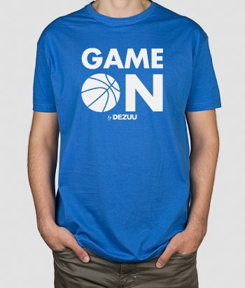 Camisola basquetebol Game On