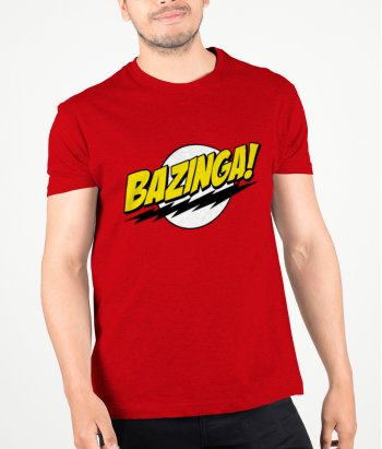 Samarreta Bazinga Big Bang Theory