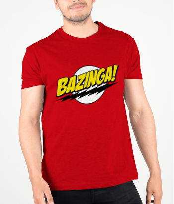 T-shirt Bazinga van de Big Bang Theory