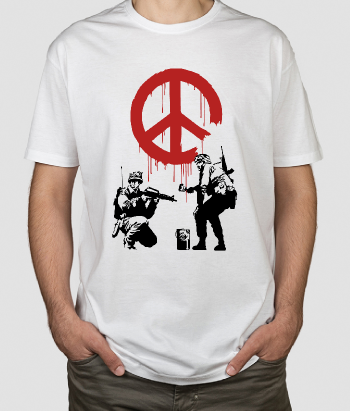 T-shirt Banksy Pace