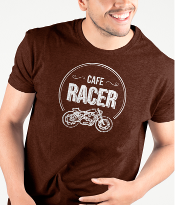 T shirt motori Cafe Racer