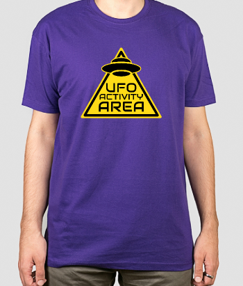 T-Shirt Ufo Activity Area