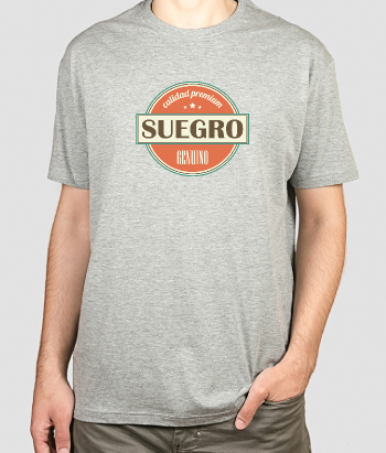 Camiseta original Suegro genuino