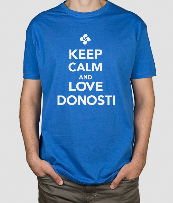 Camiseta Keep Calm Love Donosti