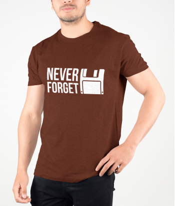 Camisola geek disquete Never forget