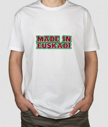 Camiseta lugares Made in Euskadi