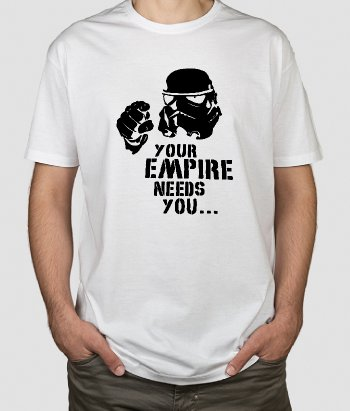 The Empire Needs You T-shirt