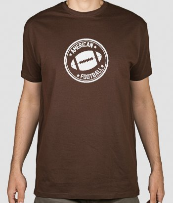 T-Shirt Sport American Football Logo