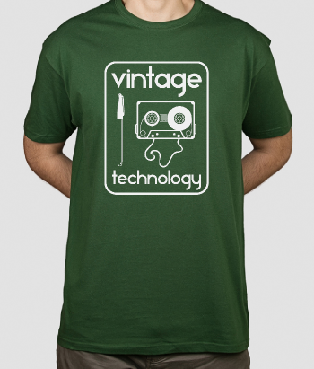Retro Shirt Vintage Technology