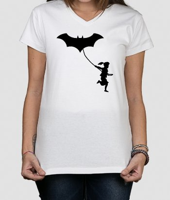 Batman Kite T-Shirt