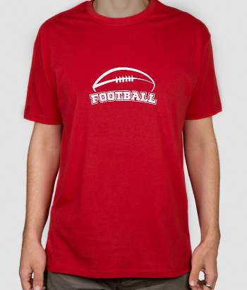 T-Shirt Sport American Football Ball
