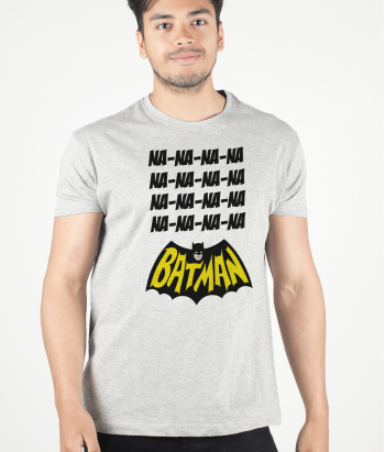 T-shirt divertida canção Batman