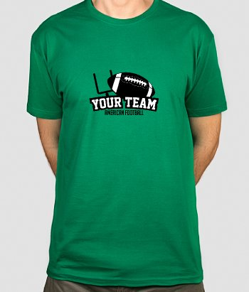 Personalisiertes T-Shirt Your Team American Football