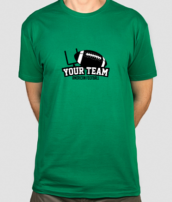 T shirt personalizzabile Football team