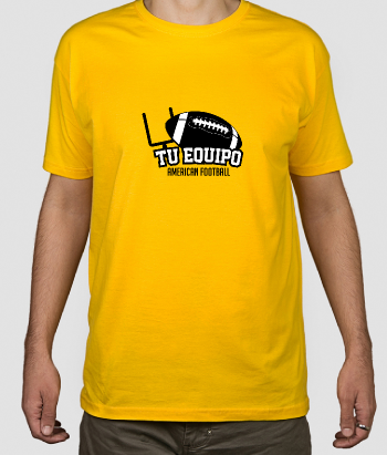 Camiseta personalizable Equipo football